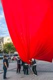 15 de julho protestos da tentativa do golpe em Istambul Foto de Stock Royalty Free