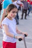 15 de julho protestos da tentativa do golpe em Istambul Imagem de Stock