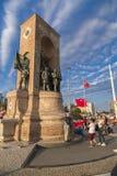 15 de julho protestos da tentativa do golpe em Istambul Foto de Stock
