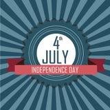 4 de julho símbolo Fotos de Stock Royalty Free