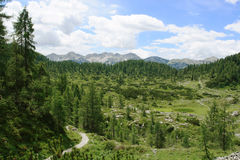 De Julian Alpen Royalty-vrije Stock Foto's