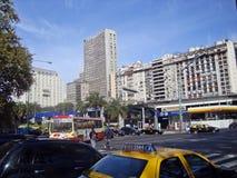 9 de Julio Avenue Foto de archivo libre de regalías