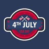 4 de julio día Fotos de archivo