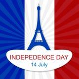14 de julio día de Bastille Fotografía de archivo libre de regalías