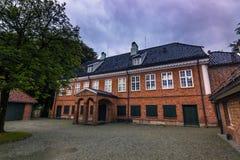 19 de julio de 2015: Residencia de Ledaal en Stavanger, Noruega Imagenes de archivo