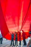 15 de julio protestas de la tentativa del golpe en Estambul Foto de archivo libre de regalías