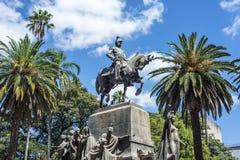 9 de Julio Square em Salta, Argentina Imagens de Stock Royalty Free