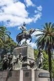9 de Julio Square i Salta, Argentina Royaltyfria Foton