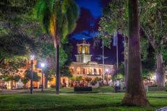 9 de Julio Square i Salta, Argentina Fotografering för Bildbyråer