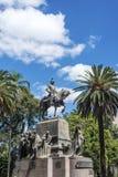 9 de Julio Square in Salta, Argentina Stock Image