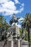 9 de Julio Square in Salta, Argentina Royalty Free Stock Photos