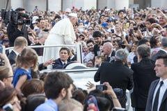 14 de junho de 2015 Congresso de Ecclesial da diocese de Roma Foto de Stock Royalty Free