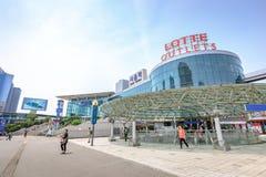 20 de junho de 2017 estação de Seoul - estação de trem principal em Kore sul fotos de stock royalty free