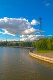 24 de junio de 2015: Centro de Minsk, Bielorrusia Fotos de archivo