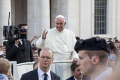 14 de junio de 2015 Congreso de Ecclesial de la diócesis de Roma Fotografía de archivo libre de regalías