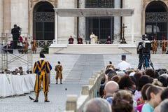 14 de junio de 2015 Congreso de Ecclesial de la diócesis de Roma Fotos de archivo libres de regalías