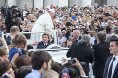 14 de junio de 2015 Congreso de Ecclesial de la diócesis de Roma Foto de archivo libre de regalías
