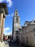 6 de junio de 2017, corcho, iglesia del ` s de Irlanda - de St Anne y torre de Shandon Belces Fotos de archivo libres de regalías