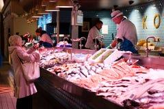 6 de junio de 2017, corcho, Irlanda - mercado inglés Imagen de archivo