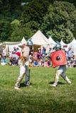 10-11 de junio de 2017 Vienne, Francia Festival histórico de los días Gallo-romanos Fotografía de archivo libre de regalías