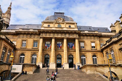 de justice palais巴黎 免版税图库摄影