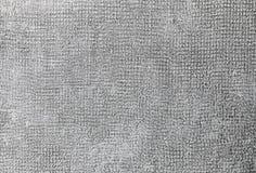 De jute witte kleur van de textuurstof Natuurlijke textiel roestige oppervlakte Rechthoekig close-up, stock foto's