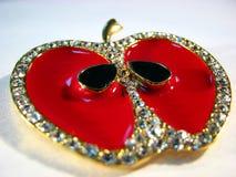 De juwelen van de appel royalty-vrije stock afbeeldingen