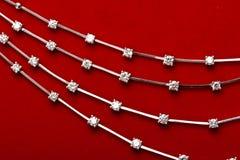 De juwelen van de diamant Stock Afbeeldingen