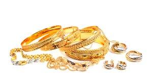 De juwelen van de vrouw royalty-vrije stock foto's