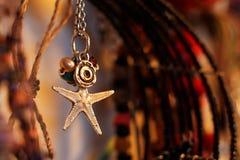 De Juwelen van de zeesterhalsband Stock Afbeelding