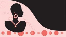 De Juwelen van het Adreskaartje royalty-vrije illustratie