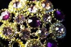 De juwelen van het bergkristal stock afbeeldingen