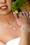 De Juwelen van het huwelijk Stock Foto