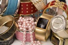 De juwelen van het kostuum Stock Afbeelding