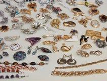 De Juwelen van het kostuum. Stock Foto