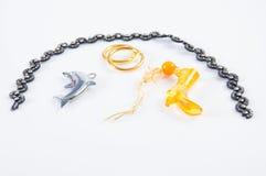 De juwelen van het stuk speelgoed Stock Afbeelding