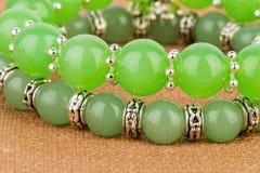 De juwelen van parels stock afbeelding