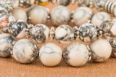 De juwelen van parels stock afbeeldingen