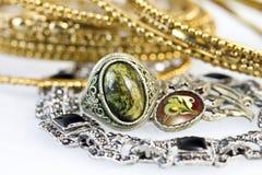 De juwelen van vrouwen Royalty-vrije Stock Fotografie