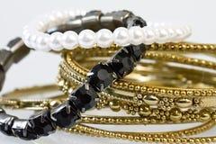 De juwelen van vrouwen Royalty-vrije Stock Foto's
