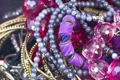 De juwelen van vrouwen Stock Foto's