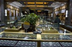 De juwelenopslag van het Uygurtafelzilver in Moslimkwart Xian royalty-vrije stock foto's