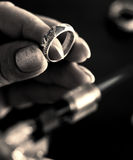 De juwelier royalty-vrije stock afbeeldingen