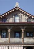 De kaap kan Victoriaans huis Stock Fotografie