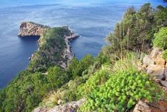 De Kaap van Na Foradada Stock Afbeelding