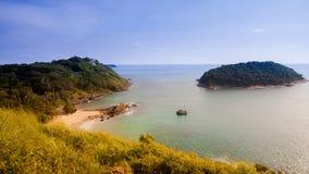 De Kaap van Promthep het Beste in Phuket-Zuiden van Thailand stock fotografie