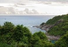 De Kaap van Promthep Het Eiland van Phuket, Thailand royalty-vrije stock afbeeldingen