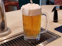 De Kaars van de biermok royalty-vrije stock foto