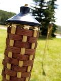 De Kaars van de Citronellaolie van de mug Royalty-vrije Stock Afbeeldingen