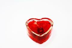 De Kaars van de liefde stock afbeeldingen